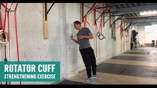 Unique Rotator Cuff Strengthening Exercise