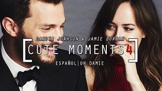 Dakota Johnson & Jamie Dornan Cute Moments 4 (SUBTITULADO)