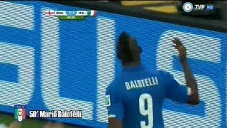 Gol Mario Balotelli - Inglaterra 1 Vs Italia 2 - Mundial Brasil 2014 - 1ra Fecha