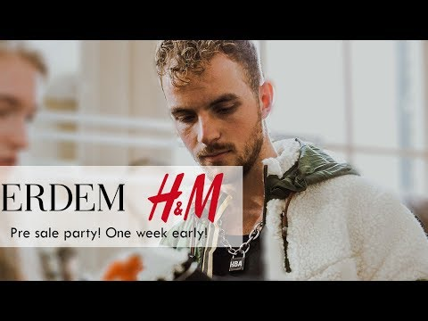 Erdem for H&M: Pre Sale Party (One week early)