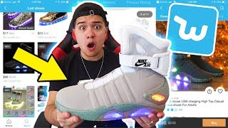 I BOUGHT AUTO LACING MAGS FROM WISH!! ($40,000 SHOES)