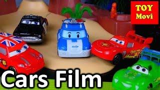 CARS 3 FILM Spielzeug AUTO Unfall Kinder Film Cars Deutsche Folgen Robocar Poli