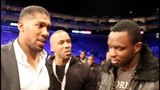 REMATCH? -ANTHONY JOSHUA TELLS DILLIAN WHYTE THAT THEY WILL FIGHT AGAIN IN THE FUTURE / BRITISH BEEF