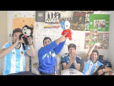 Chile vs Alemania Final Copa Confederaciones 2017 Reacciones Amigos Argentinos