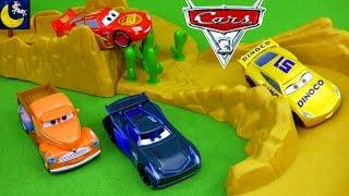 Disney Cars 3 Toys Lightning McQueen Jackson Storm Diecast Crash Willy