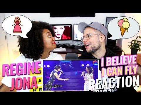 Regine Velasquez & JONA – I Believe I Can Fly | Queen of the Night Concert | REACTION