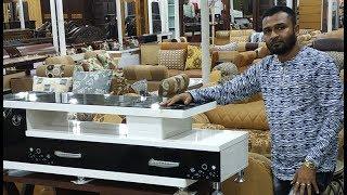 ☕ড্র ইং রুম সাঁজাতে রাজকীয় ডিজাইনের কফি টেবিল প্রাইস (coffee table price)
