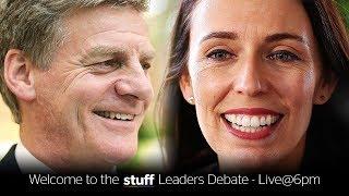 Stuff Leaders Debate