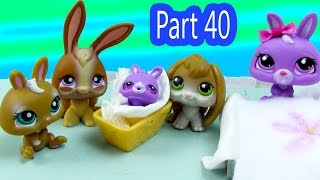 LPS Baby Bunny Brother - Mommies Part 40 Littlest Pet Shop Series Movie LPS Mom New Babies Bunny
