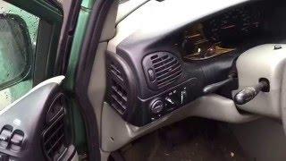 Chrysler Minivan Dodge Caravan 1998: Fix Signal Lights   Flue Guru