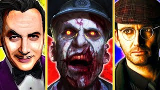 1 ZOMBIES EASTER EGG FROM EACH DEVELOPER!! | CALL OF DUTY ZOMBIES EASTER EGGS