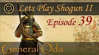 Let's Play Shogun II - Oda Campaign - Korean Mod (Hard) - Part 39 - Crush the Ukita