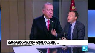 Saudi explanation of Khashoggi murder greeted with scepticism by Turkey