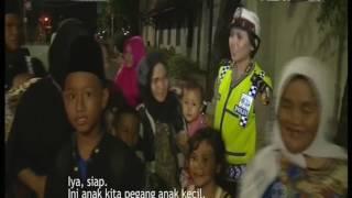 86 Pengamanan Perayaan Pergantian Tahun Baru 2017 - Bripda Tiara NTMC Polri