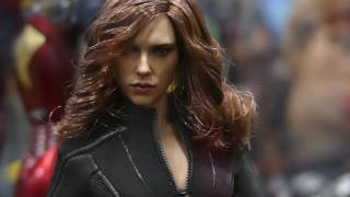 Hot Toys Marvel SDCC 2016 Display! Captain America Civil War, Daredevil, Deadpool & MORE!