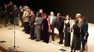 2017 African American Art Song Alliance 2/10 Evening *CURTAIN CALL*