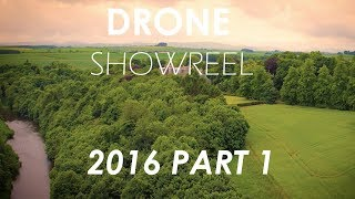 Cinematic Drone Showreel 2016