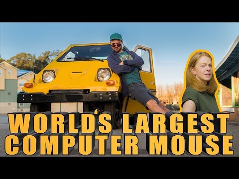 I turned this car into a COMPUTER MOUSE
