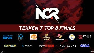 NCR 2018 - Tekken 7 Tournament - Top 8 Finals ft. JDCR, Saint, Qudans, Jeondding
