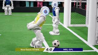 MRL vs. Nao-Team HTWK - RoboCup Iran Open 2018