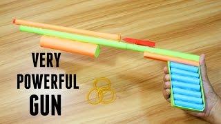 How to make a Paper Gun that Shoots   Easy Tutorials   Easy Paper Shotgun