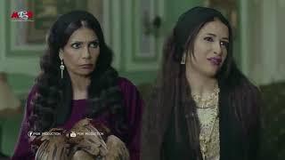 مسلسل البيت الكبير- نادية عرفت ازاى تضايق جبرية ...... شوف رد فعل جبرية