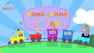 Lagu kanak-kanak: Nama-nama Bulan I Malay Kids Songs : Months of The Year