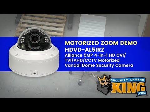Xxx Mp4 Motorized Zoom Demo HDVD AL5IRZ Alliance 5MP 4 In 1 Motorized Vandal Dome Security Camera 3gp Sex