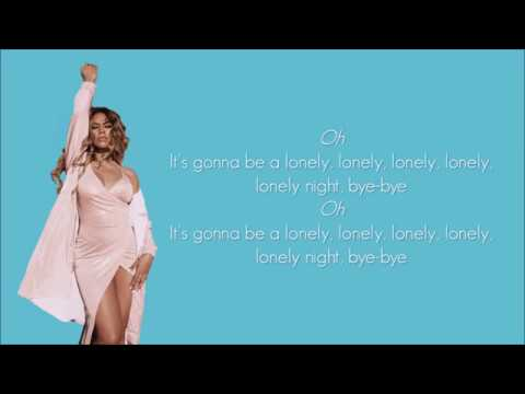 Fifth Harmony Lonely night Lyrics