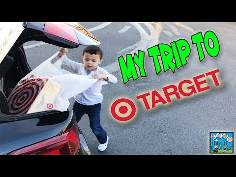 ANTHONY TAKES SURPRISE SHOPPING TRIP TO TARGET FOR NEW TOYS DINGLEHOPPERZ SKIT