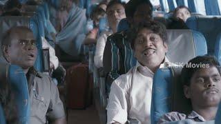 Thambi Ramaiah Comedy Scene @ Bus - Athithi ( Cocktail Malayalam Movie Remake) Tamil Movie Scene