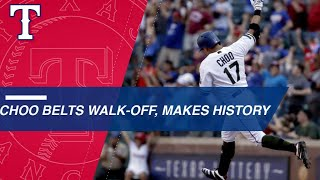 Choo sets record for HRs hit by Asian-born player