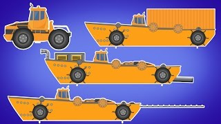 Transformer | Sea Construction Vehicle | Sea Dumpster | Sea Sand Mining | Sea Ship Connector