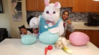 Easter Egg Surprise Toys for Kids Pretend Play! Family Fun Video
