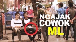 GILA!! NGAJAK COWOK ML with BRAM DERMAWAN - INDONESIA PRANK