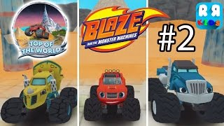 Blaze and the Monster Machines - Top Of The World Track Part 2