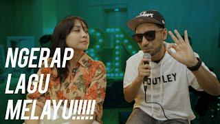 Ditantang Ngerap Sama Penyanyi Malaysia #RANSMUSIC