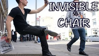 INVISIBLE CHAIR MAGIC TRICK!