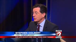 """Stephen Colbert debuts on """"The Late Show"""""""