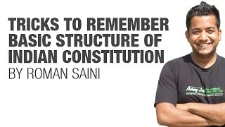 Tricks to remember Basic Structure of Indian Constitution {UPSC CSE/IAS, SSC CGL/CHSL, Bank PO}