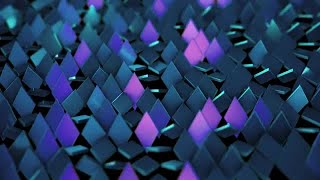 Rotating Rhombus Background Stock Motion Graphics