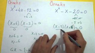 2. DERECEDEN DENKLEMLER 1 - Şenol Hoca