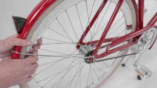 How to tighten a bicycle chain - Veloretti