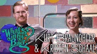 Kristen Schaal and Kurt Braunohler - What's in My Bag?