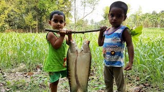 Clown Knifefish Cooking By 3 Years Kids - Cute Baby Sneyha