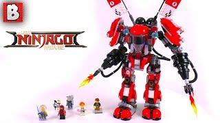 LEGO Ninjago Movie Fire Mech Set 70615! | Unbox Build Time Lapse Review