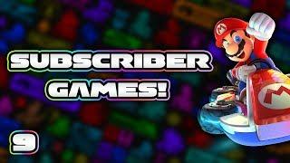 Subscriber Races! - Mario Kart 8 Deluxe