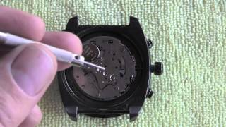 How to remove Crown and Stem from Watch