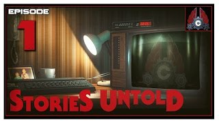 Let's Play Stories Untold With CohhCarnage (The House Abandon) - Episode 1