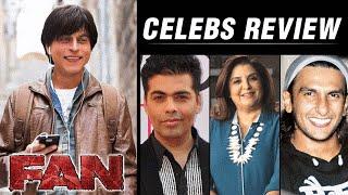 Fan Movie - CELEB REVIEW   Shahrukh Khan